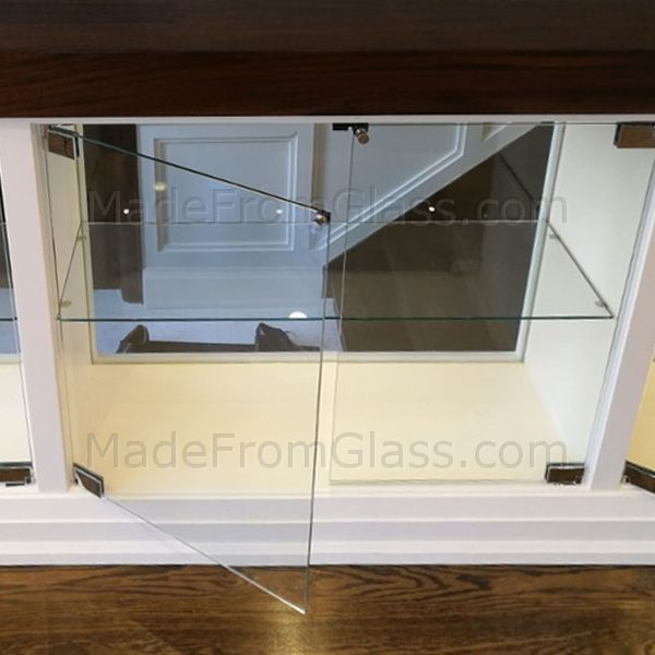 Built-In Glass Cabinets