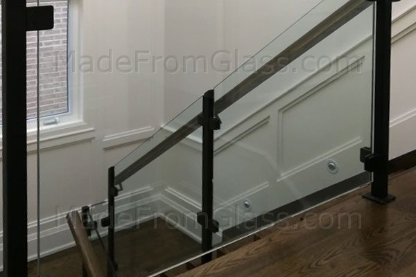 Glass Railings with Posts